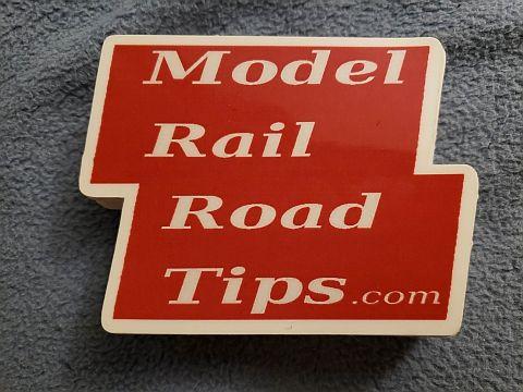 Model Railroad Tips Logo Sticker
