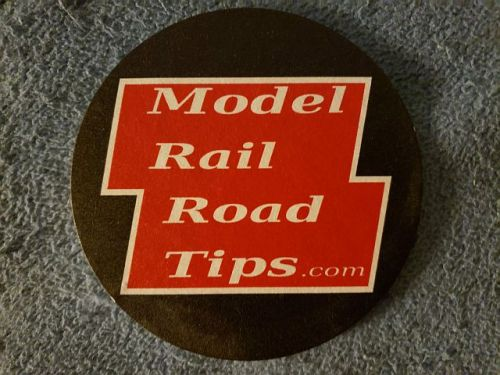 Model Railroad Tips coaster