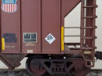 Custom UN 3077 Hazmat HO Scale Decals